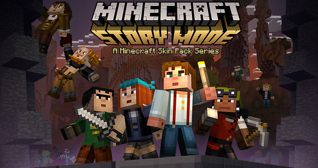 Minecraft brings you new skins for Story Mode today