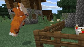 Foxes and an avatar maker in the latest version of Minecraft